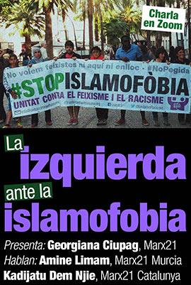Charla: La izquierda ante la islamofobia